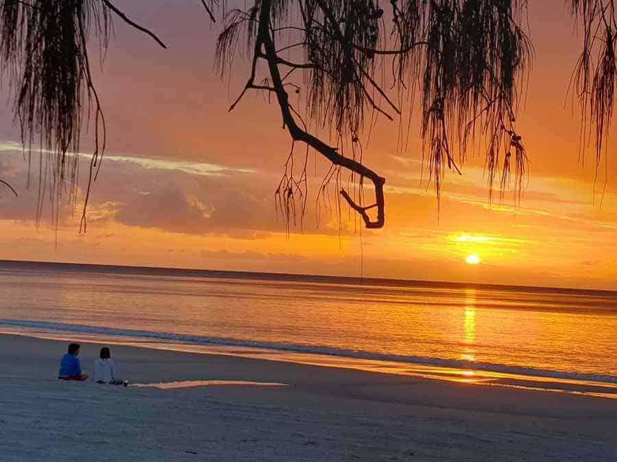 Warm Beaches of Queensland