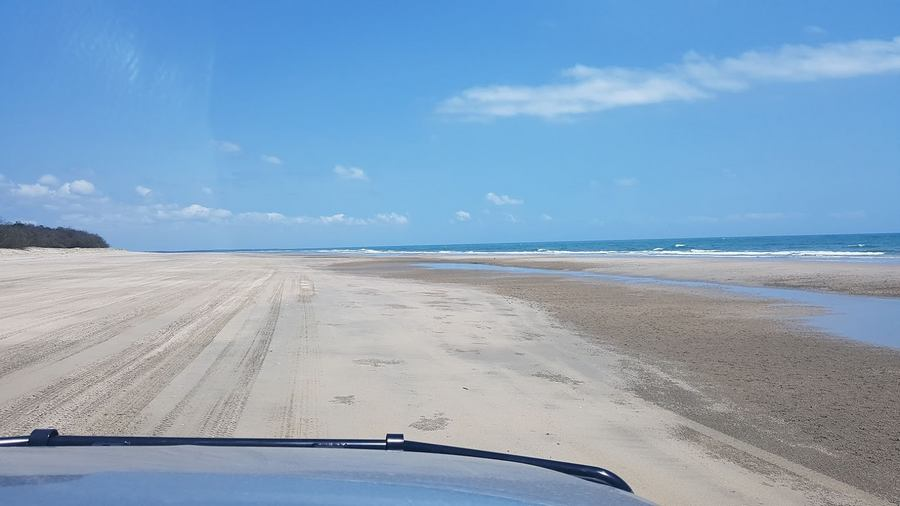 Can a 4WD get stuck on the beach?