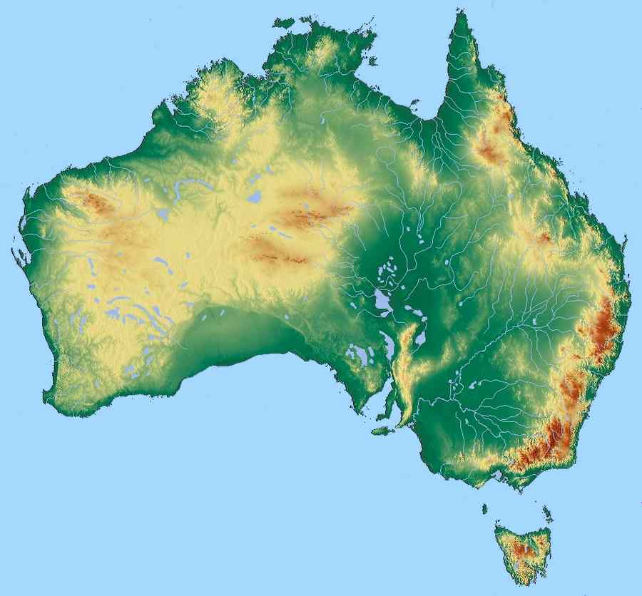 How to Read a Map of Australia