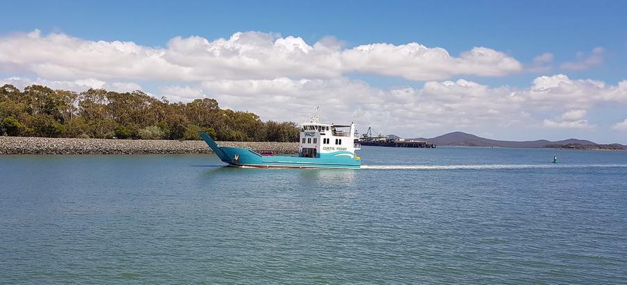 Curtis Island ferry